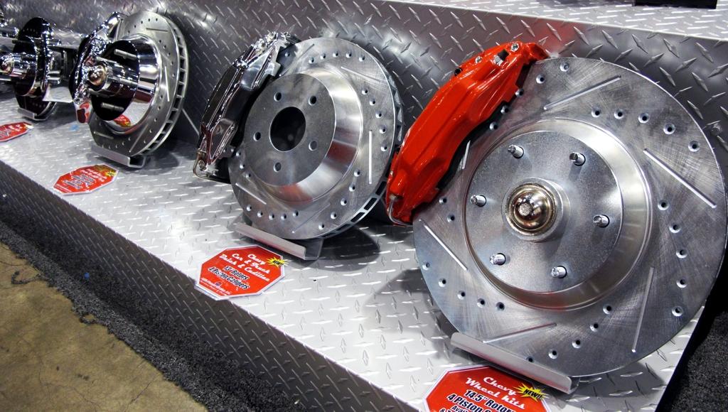 Disc Brake Kits, Performance Part Review, ABS Brakes, SEMA 2010