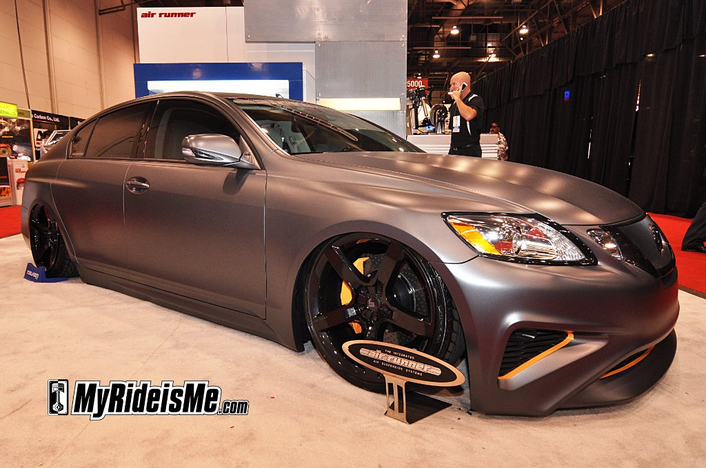 Best custom cars from sema 2010 las vegas Best satin paint