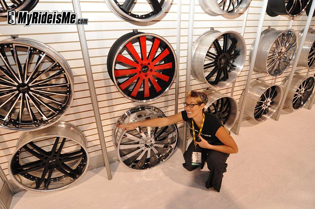 Big Rims,sema car show las vegas, custom wheels and tires, SEMA 2010