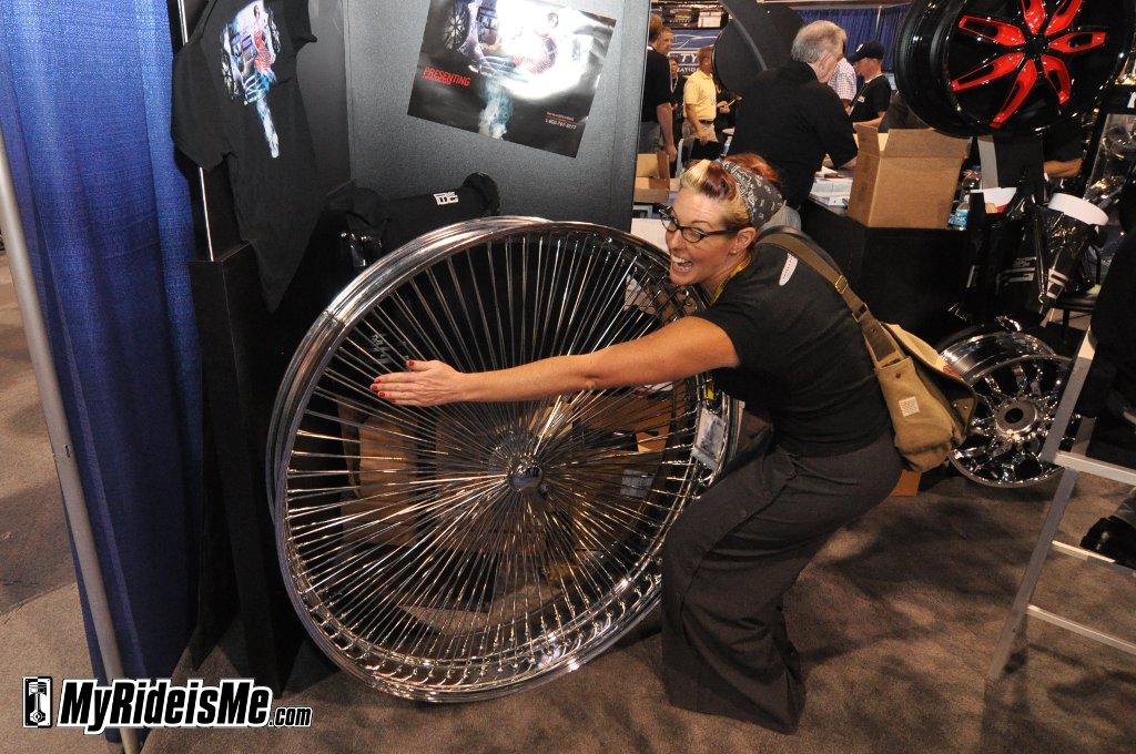 SEMA's Biggest Rim, SEMA Show 2010, custom car rims, custom car wheels
