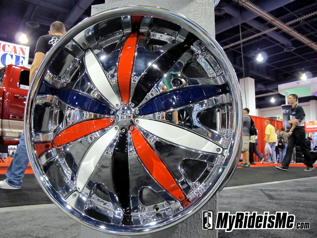 custom car rims, SEMA Show 2010, ugly wheels, ugly rims