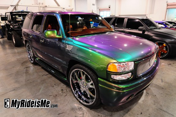 Color Changing paint, color changing car paint, color change paint, sema 2010, car show car