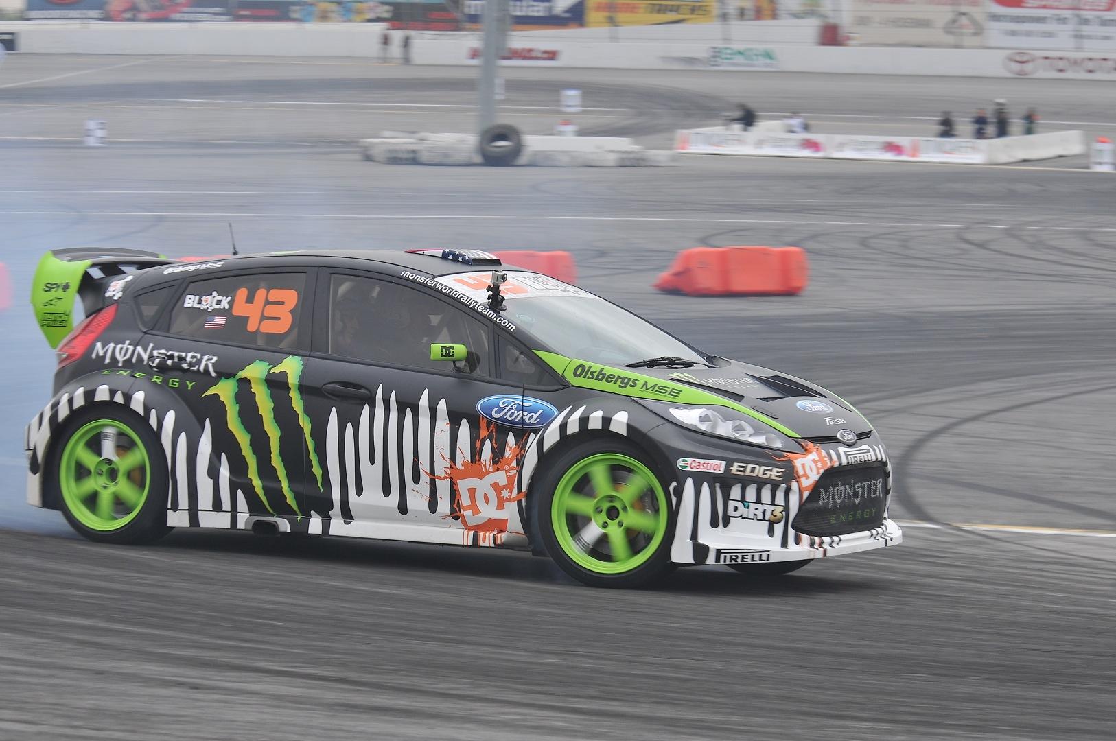Ken Block Gymkhana Grid Toyota Speedway Photos & Recap | MyRideisMe.com