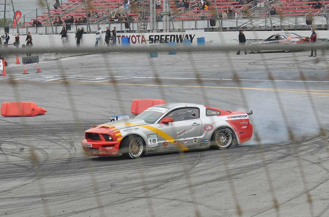 Tony Brakohiapa, Hankook, Mustang GT, gymkhana