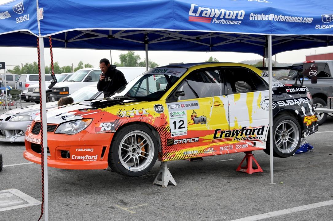 Stephen Verdier,Crawford Performance, Subaru STI, gymkhana