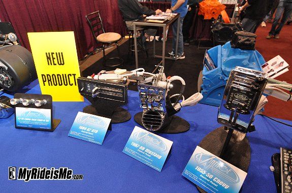 Custom AC, Hot rod AC, custom ac controls, SEMA 2010