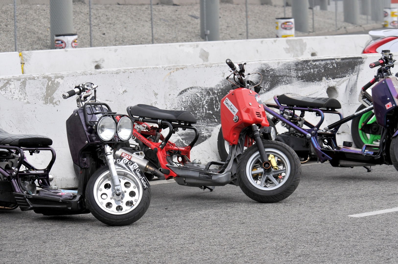 Honda Ruckus, motormavens, mass appeal, gymkhana