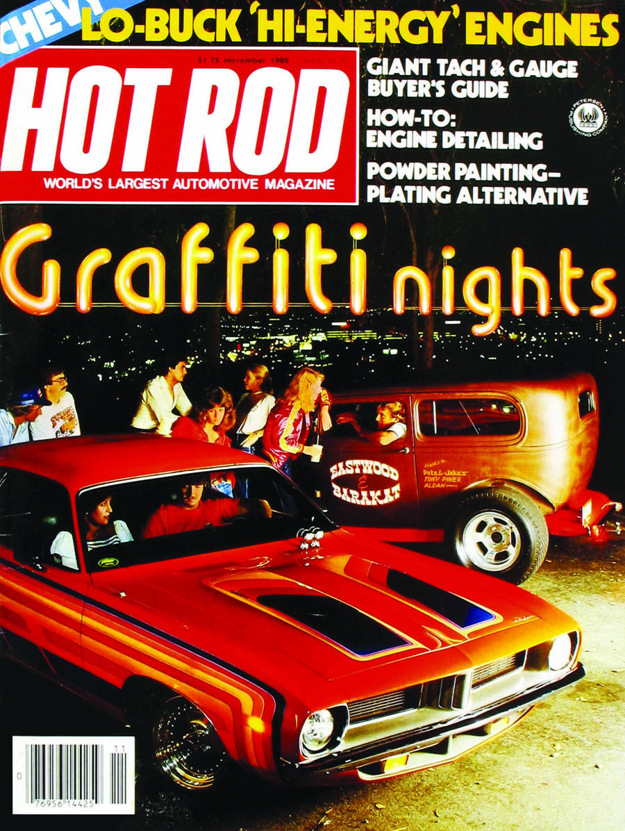 Hot Rod Magazine, magazine cover, cover car