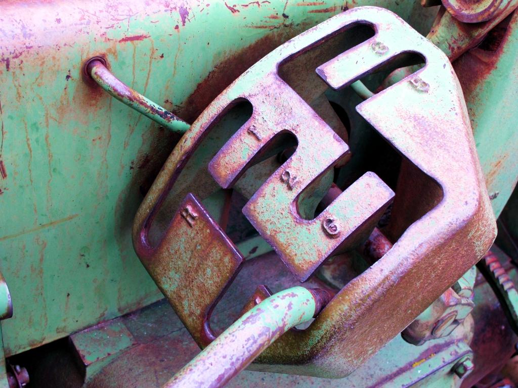 John Deere Gear Box, old tractor, car photography, tractor gear box