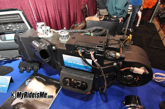 All Electronic vintage air conditioning control at SEMA 2010