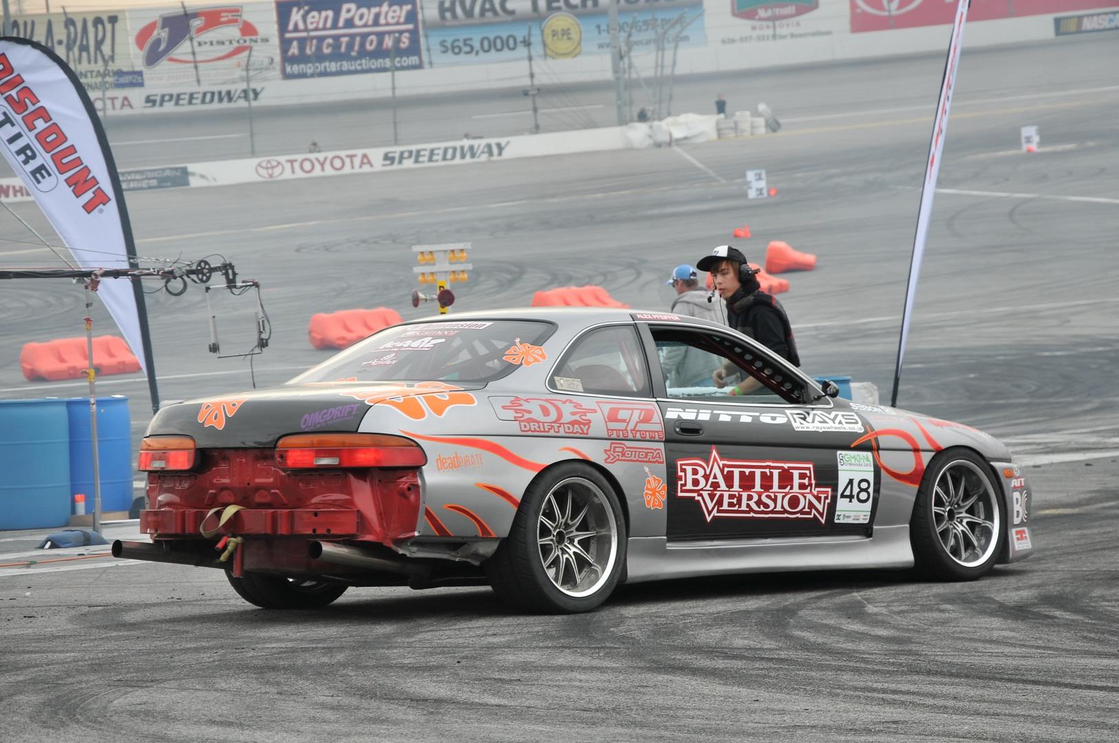 Alex Pfeiffer, Lexus Soarer, Battle Version, gymkhana