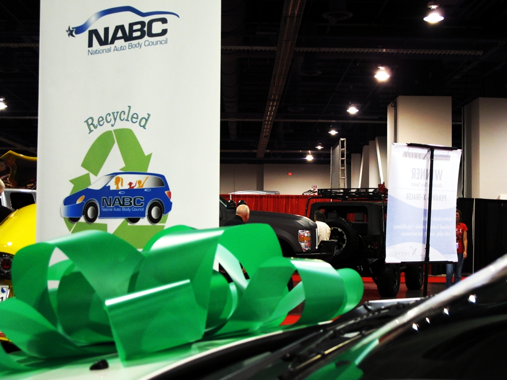 National Auto Body Council, Recycled Rides, SEMA, Las Vegas