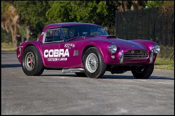 Restored Shelby, Carroll Shelby, dragonsnake,dragonsnake cobra,shelby cobra