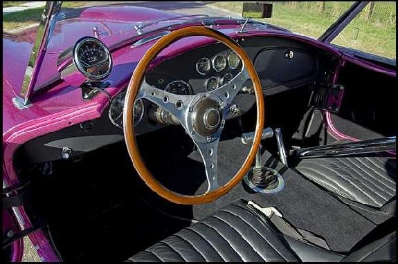 restored InteriorCarroll Shelby, dragonsnake,dragonsnake cobra,shelby cobra