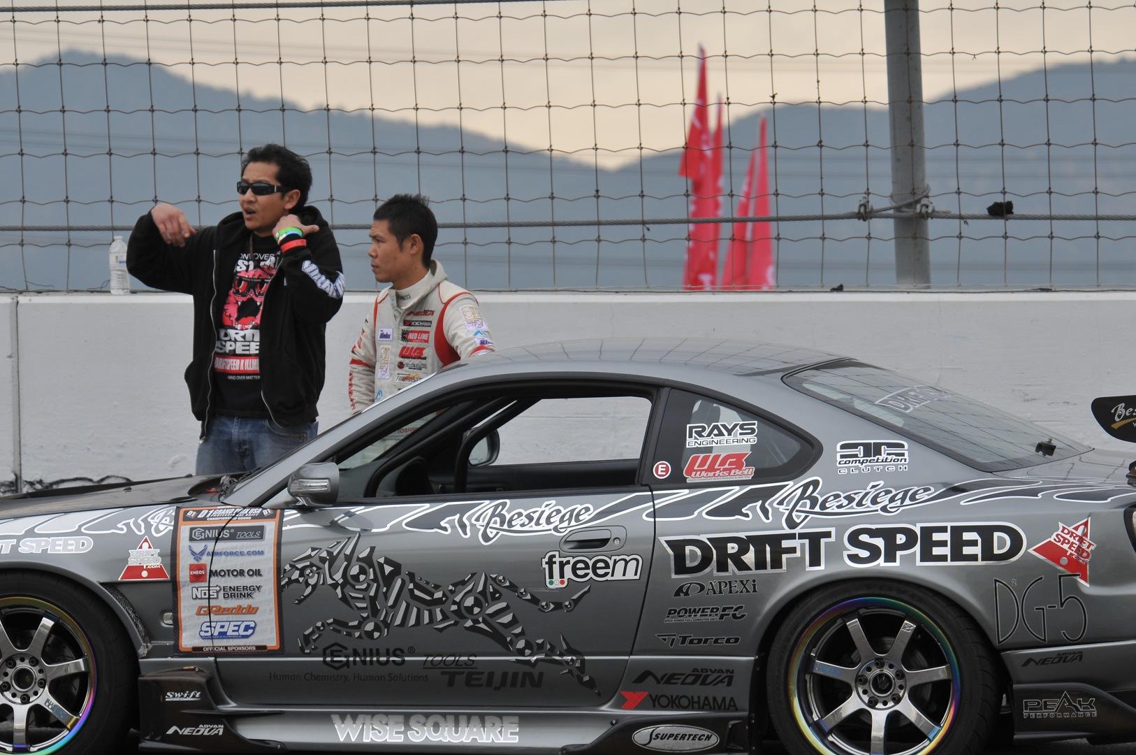 Toshiki Yoshioka, Quoc Ly, Driftspeed, gymkhana