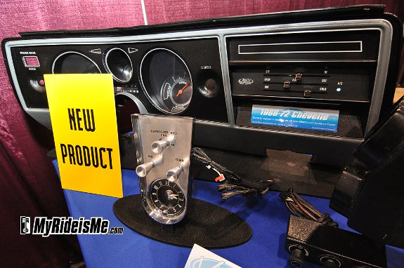 Custom AC controls for Corvette air conditioning at SEMA 2010