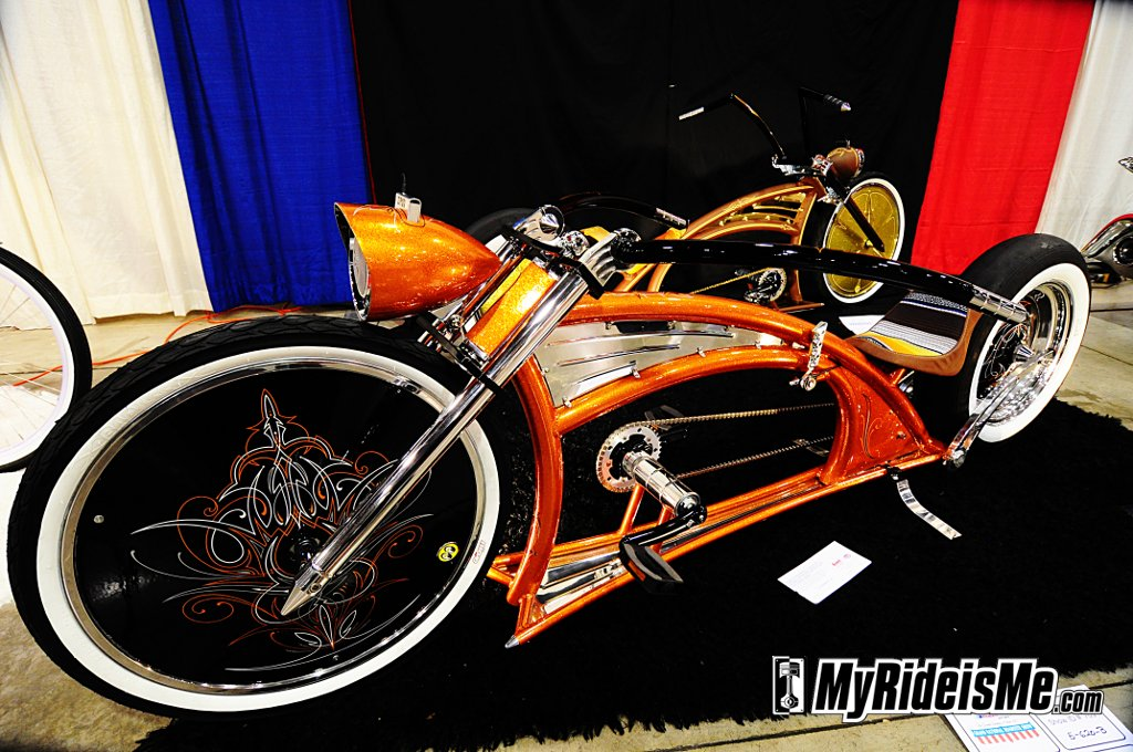 2011 Grand National Roadster Show, custom bicycle, custom bike cruiser