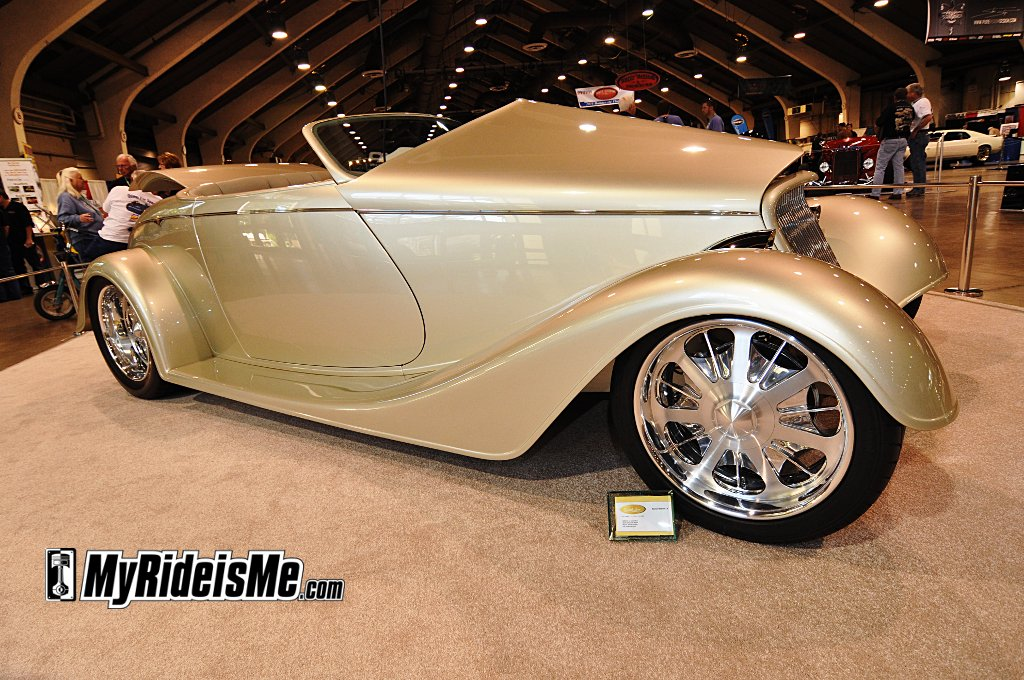 America's Most Beautiful Roadster, AMBR Contender, Pomona Car show, 2011 Grand National Roadster Show, 1933 Roadster