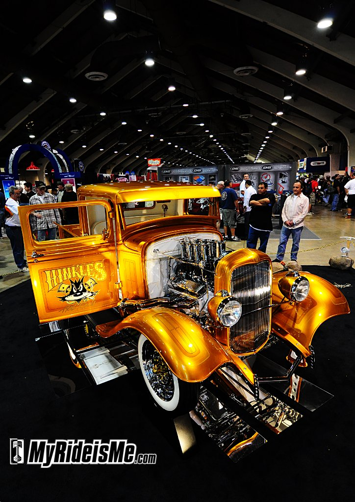 2011 Grand National Roadster Show, Hot Rods, custom cars, custom Pickup