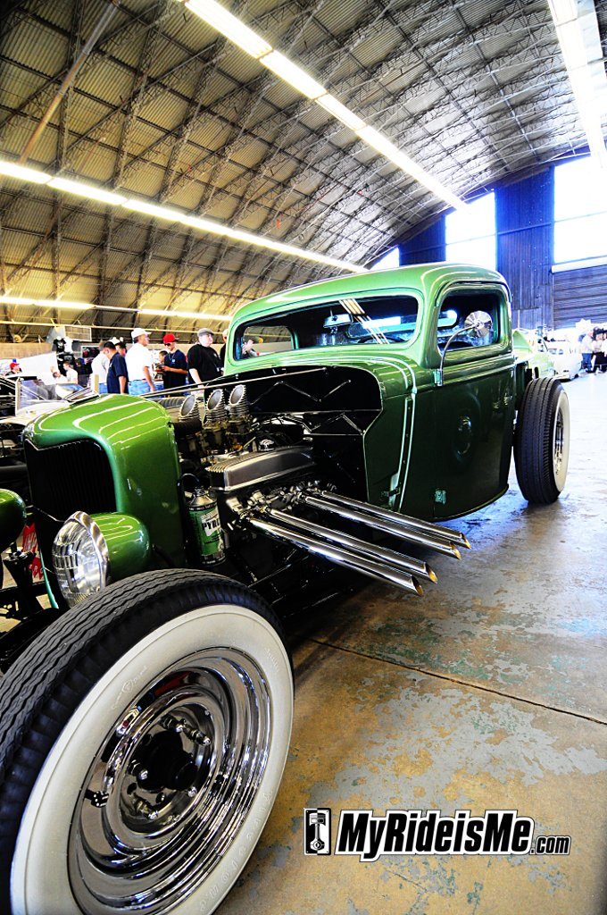 2011 Grand National Roadster Show, Suede Palace, Hot Rods, custom hot rod pickup