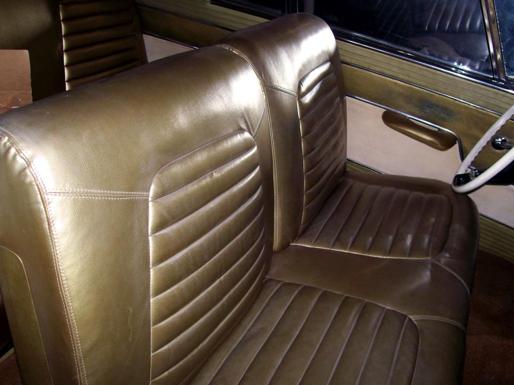 Original Studebaker Interior, car interior