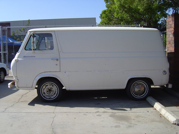 1963 Ford Econoline Van Custom Customized Vans Kustom