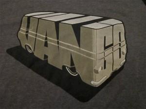 Custom Econoline Van, van t-shirt, custom van, ford econoline