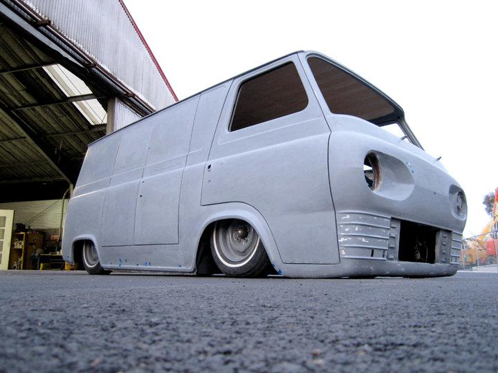 custom Econoline Van, airride van, custom van, ford econoline