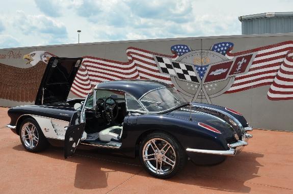 classic corvette, corvette restoration, Restomod Corvette