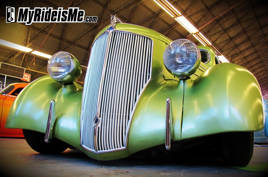 1936 Ford, custom Grill, 2011 GNRS, Suede Palace, Grand National Roadster Show, rat rods, rat rod pictures