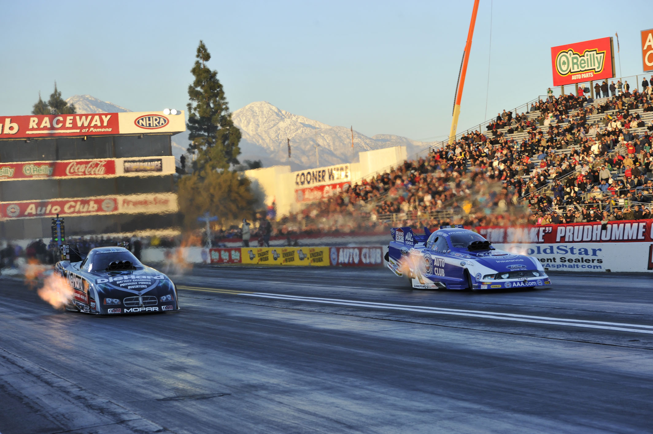 2011 Winternationals, Funny Car, funny car racing, winternational results