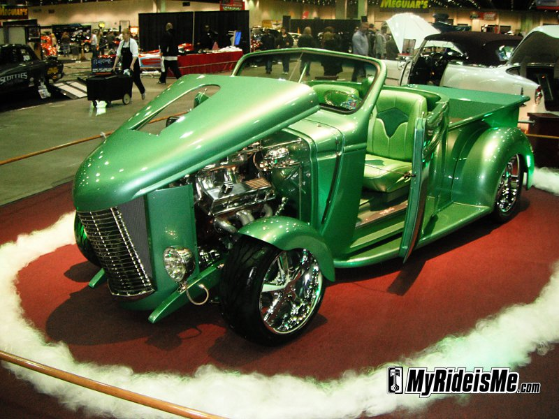 2011 Detroit Autorama, 2011 world of wheels, detroit autorama ridler award, 2011 ridler award winners, custom cars, custom car show, 1947 Chevy Roadster Pickup