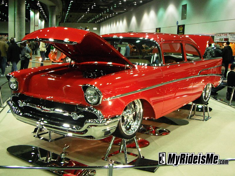 2011 world of wheels, detroit autorama ridler award, autorama detroit mi, ridler award winners, hot rods, custom cars, custom car show,1957 Chevy 210 Sedan