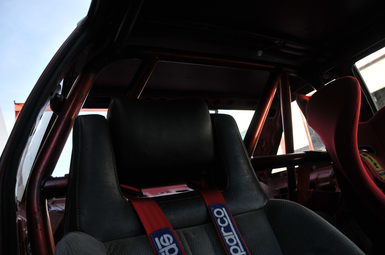 AE86, SCCA, legal cage, 6 point