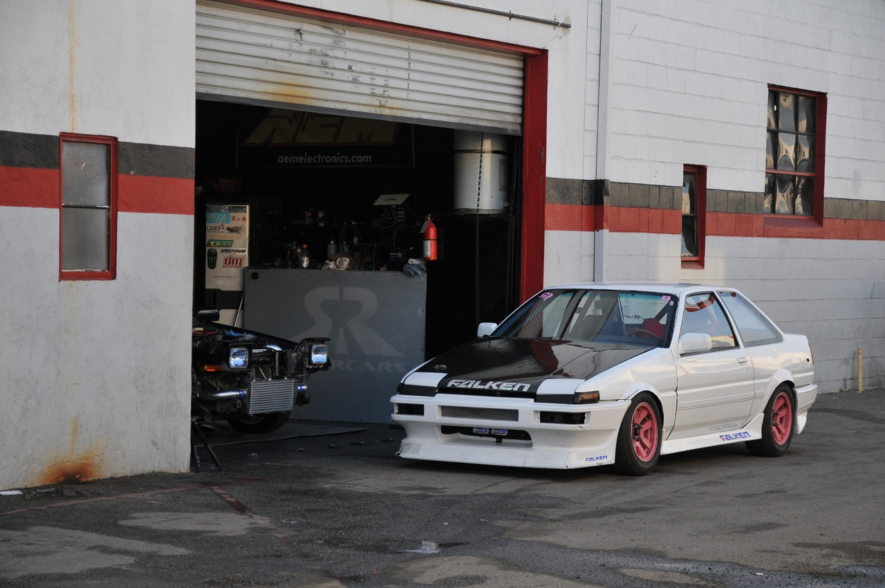 The AE86 is a code name for a