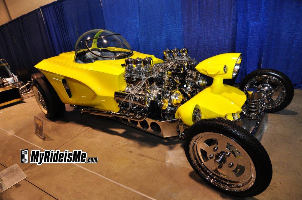 """""""Big Daddy"""" Ed Roth, Ed Roth's Mysterion, wacky show car, Big Daddy Designs"""