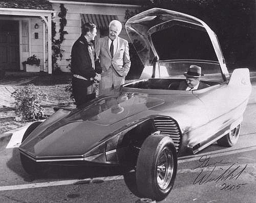 Gene Winfield, Reactor custom car, TV show cars, car on Bewitched
