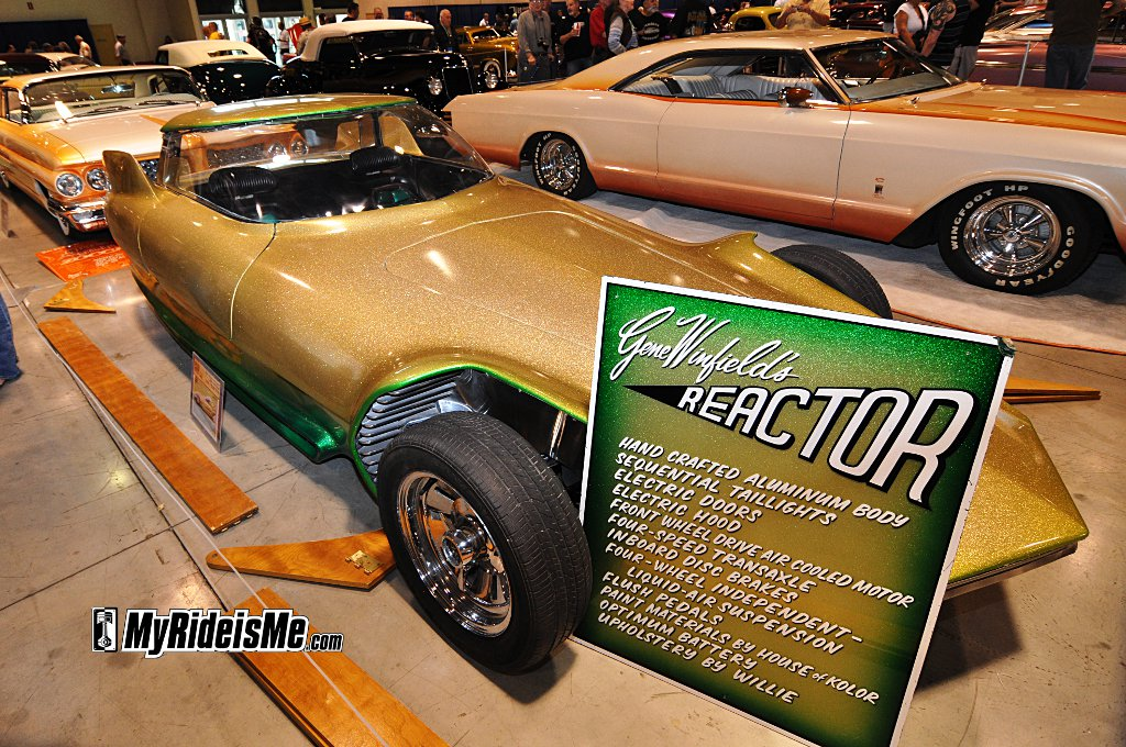 Gene Winfield, Reactor custom, Reactor custom show car, bubble-top show car
