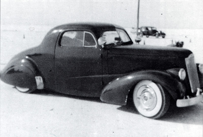 Leroy Semas, Sacramento Autorama winner, 1937 Chevy Custom