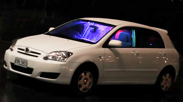Leds on your car are always wrong led controlled by iphone igloledset car install 1 color led light strip aloadofball Images