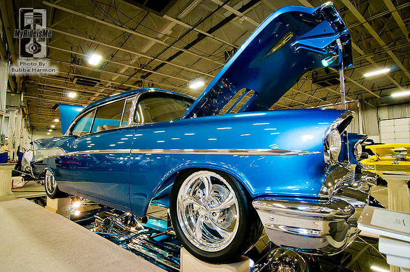 Northeast Rod and Custom show, elite 6, custom car show, Philadelphia car show, 1957 Chevy Coupe