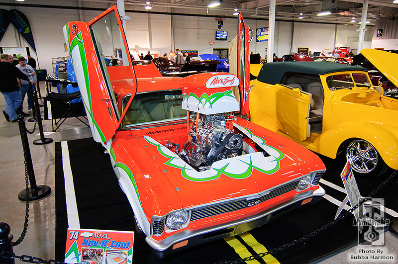 Northeast Rod and Custom show, elite 6, custom car show, Philadelphia car show, 1974 Chevy Nova