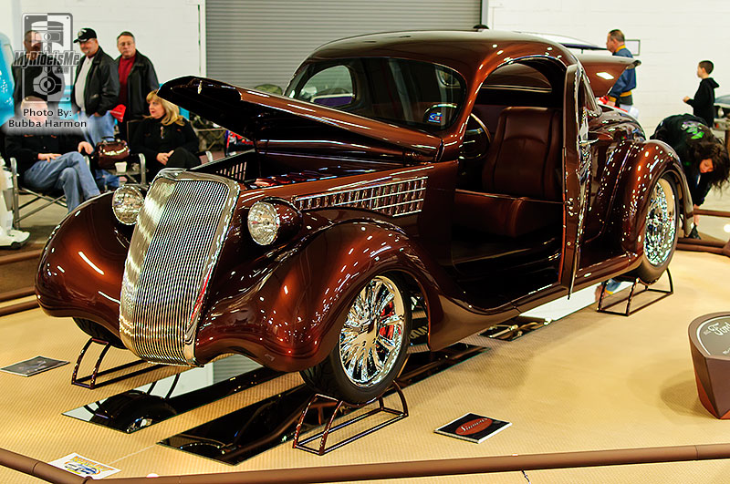 Northeast Rod and Custom show, elite 6, custom car show,  Philadelphia car show, 1935 Ford Coupe