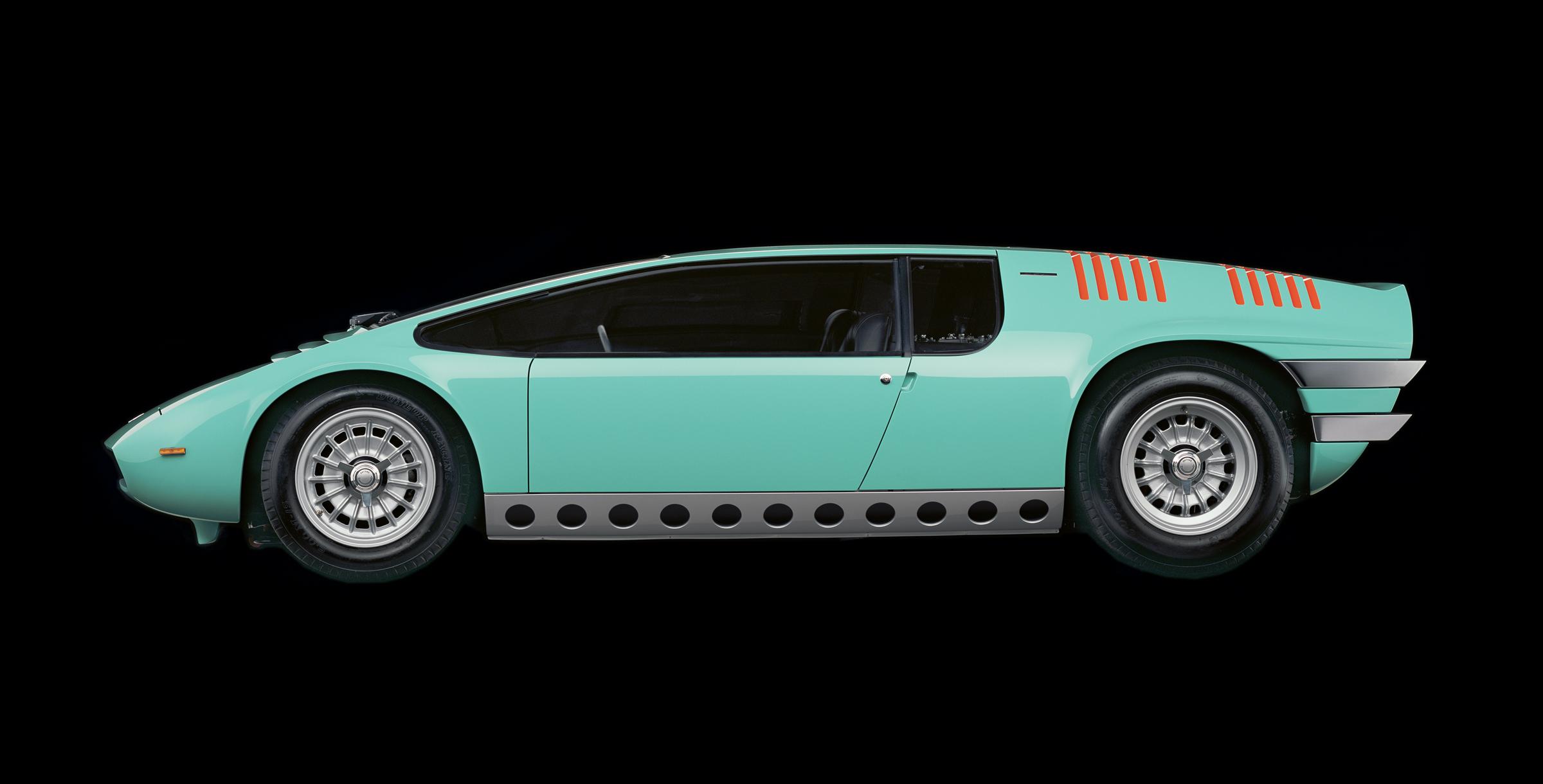 Manta, super cars, Super car pics, supercar pics, super car pictures, supercar pictures, 1968 Bizzarini Manta, Petersen Automotive Museum