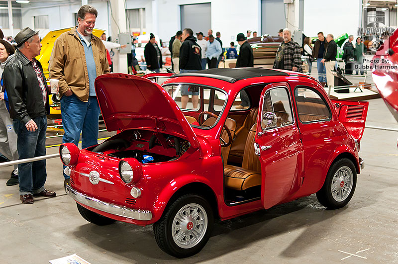 Northeast Rod and Custom show, elite 6, custom car show,  Philadelphia car show, 1959 Fiat 500