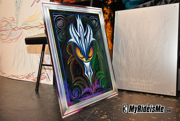 Pinstriping Hot Rod Art at 2011 GNRS - Pinstriping Auction