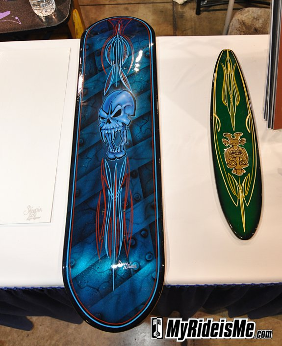 More Pinstriping Art at 2011 GNRS from Dave Whittle