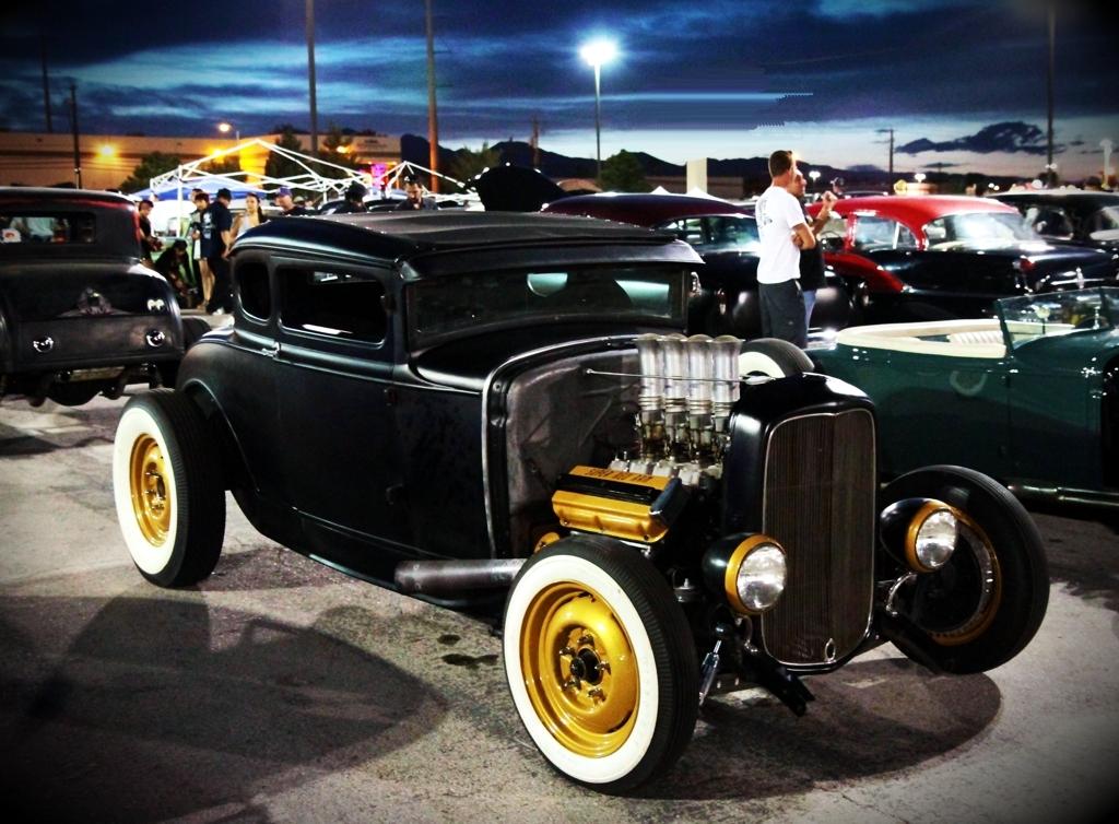 Viva Las Vegas 2011, Viva Car Show, VLV 14, five window coupe
