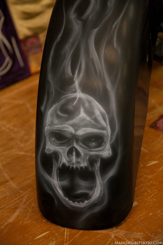 Airbrush, Skull,fender,car show