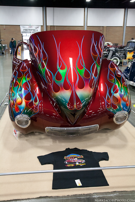1941 Willys,Gasser,Car Show,Flames,Custom